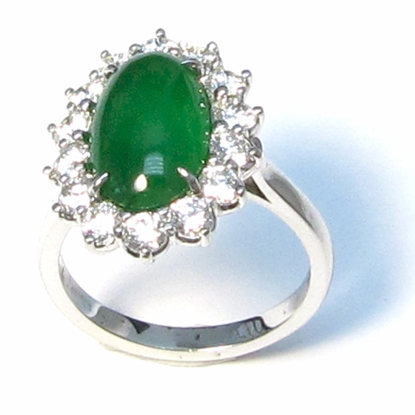rings platinum diamond id jewelry dome for ring jadeite no treatment gia l jade j certified at sale